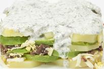 Receta del lunes: ensalada milhojas de aguacate